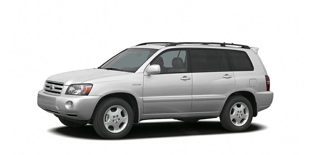 2005 Toyota Highlander  ABS brakes Air Conditioning AMFM radio Bumpers body-color CD player