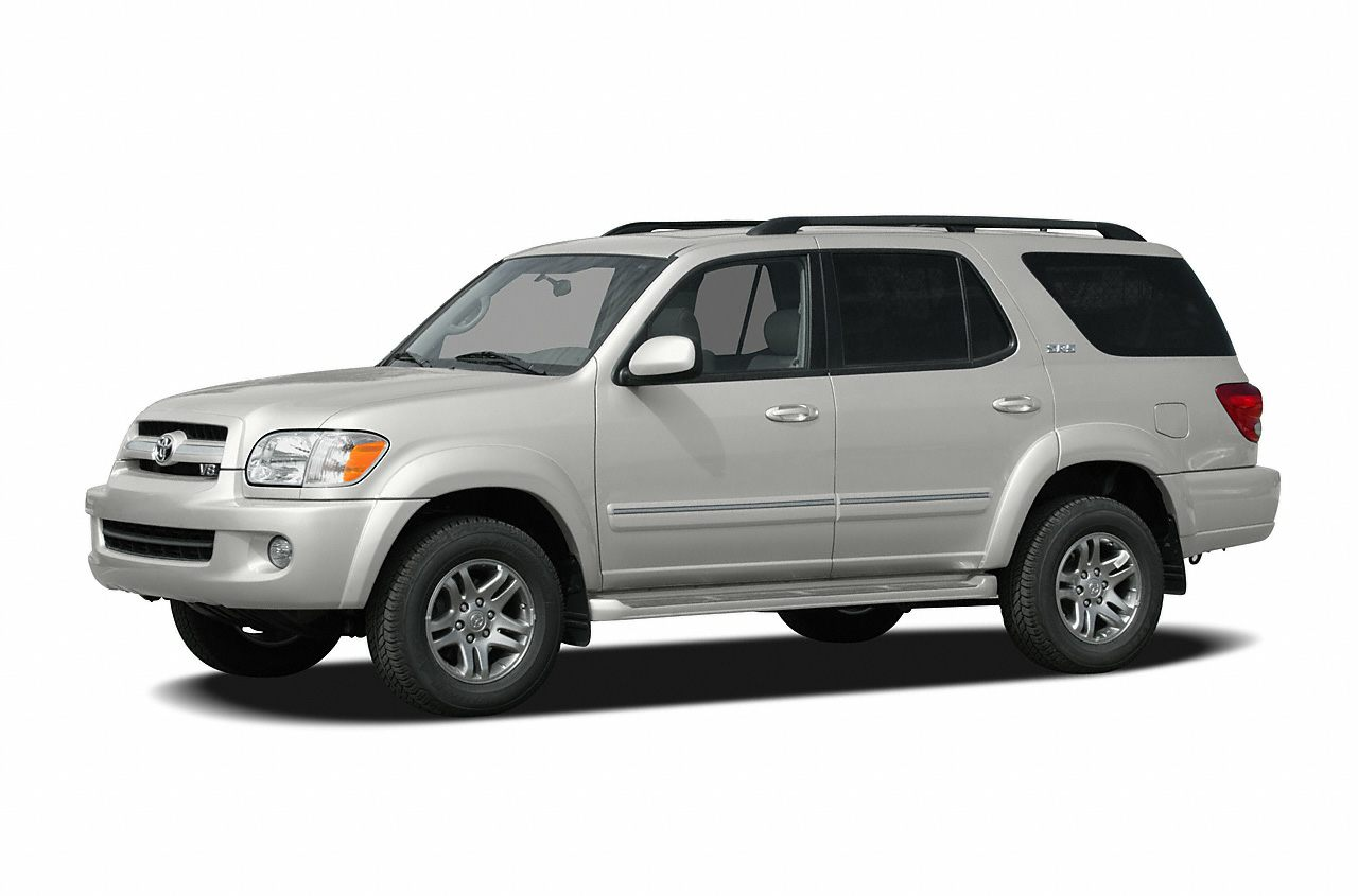 2005 Toyota Sequoia SR5 Miles 182095Color White Stock SB18196A VIN 5TDZT34A35S263493
