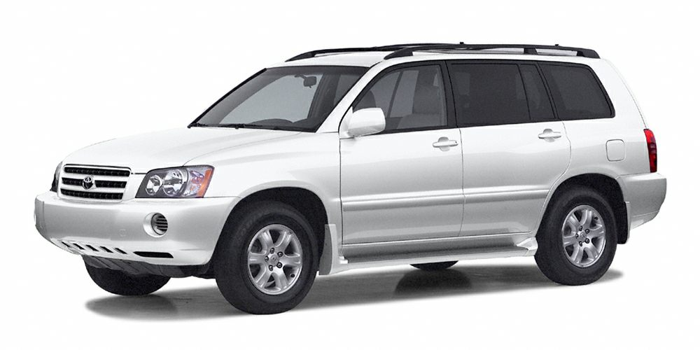 2003 Toyota Highlander Base Grab a score on this 2003 Toyota Highlander 4DR 2WD AT while we have i