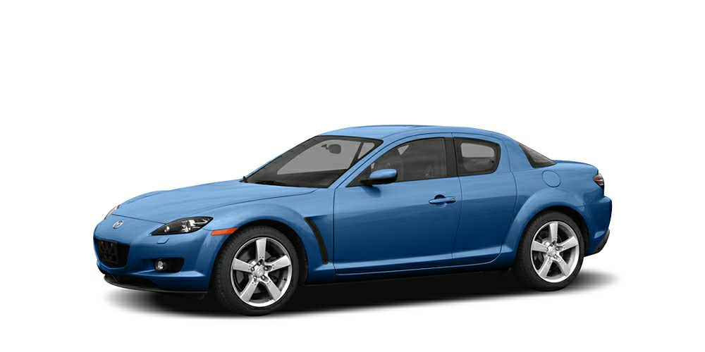 2004 Mazda RX-8 Base Miles 99334Color Winning Blue Metallic Stock SB16549A VIN JM1FE173X4010