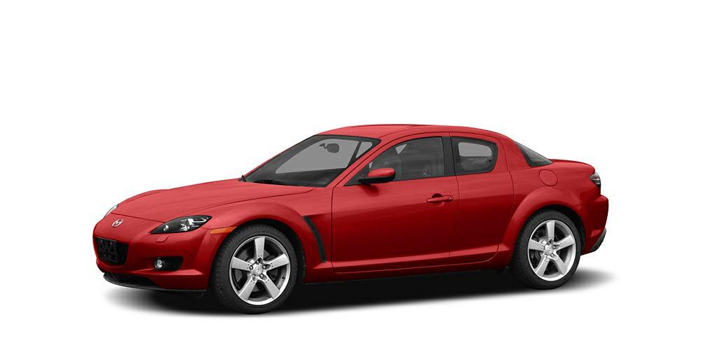 2004 Mazda RX-8 Base Miles 75761Color Velocity Red Mica Stock P6181 VIN JM1FE173640113944