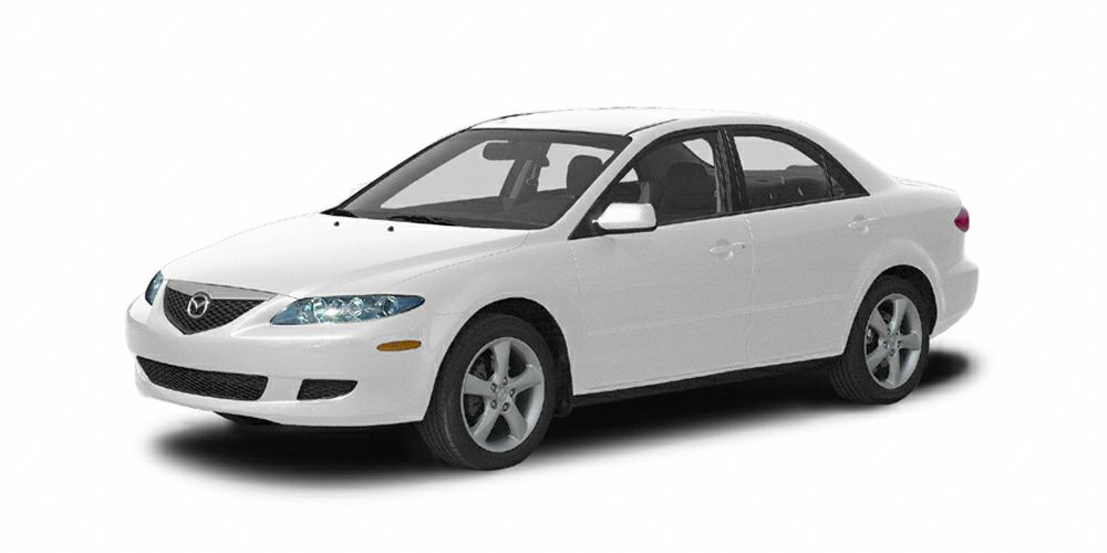 2004 Mazda MAZDA6 i Miles 204754Color Performance White Stock U2266A VIN 1YVFP80C345N29900