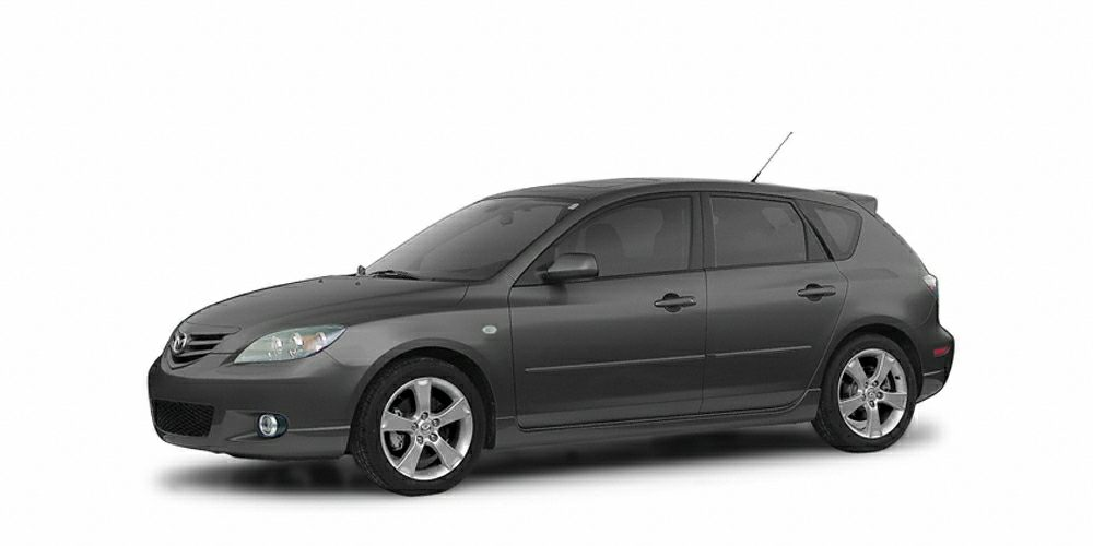2004 Mazda MAZDA3 s Clean Carfax - Air Conditioning - Alloy wheels - CD player - Power windows - an