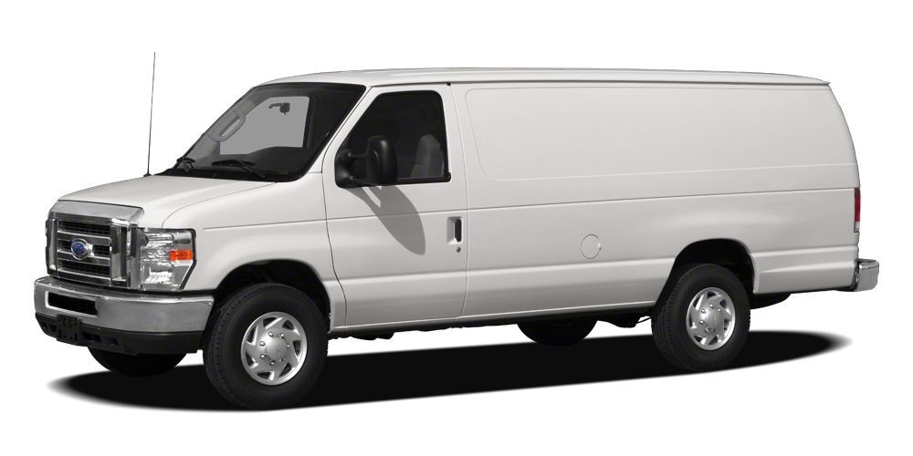 2012 Ford Econoline 250  Vehicle Detailed Recent Oil Change and Passed Dealer Inspection White