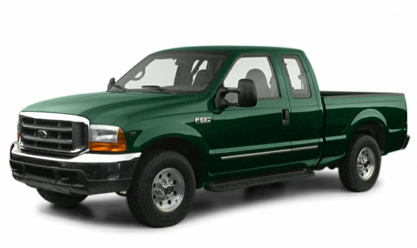 2000 Ford F-250 Super Duty This 2000 Ford F-250 Super Duty Pickup might just be the extended cab p