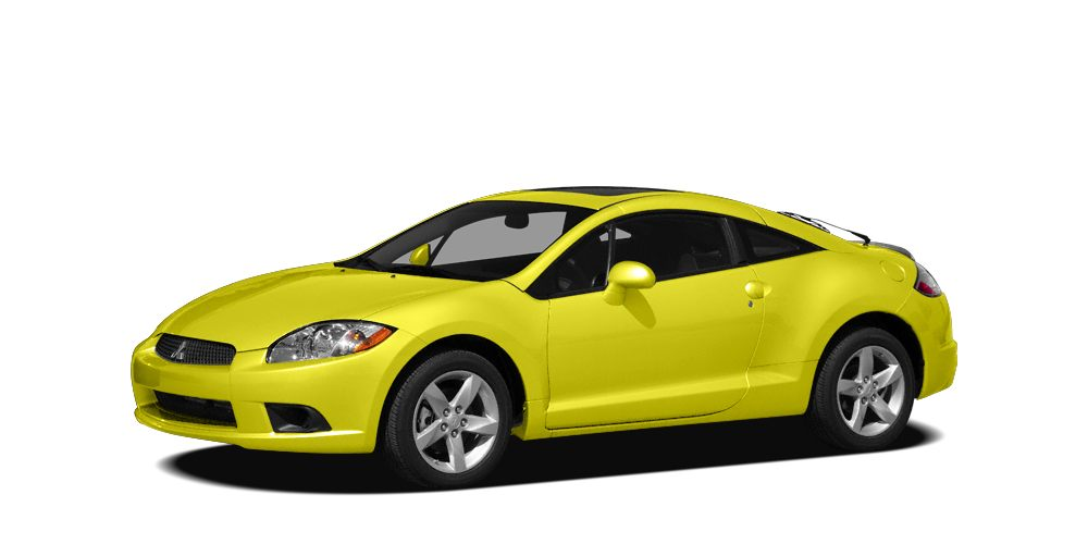 2009 Mitsubishi Eclipse GS Miles 130597Color Yellow Stock SB16660A VIN 4A3AK24F89E025315