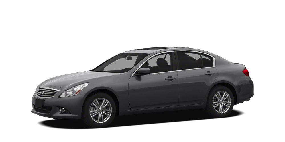 2012 INFINITI G37 Journey 4D Sedan 37L V6 DOHC 24V 7-Speed Automatic with Manual Shift RWD Li