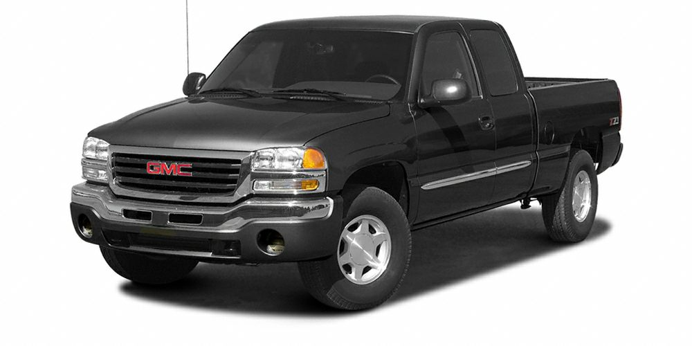 2004 GMC Sierra 1500 WT SUPERCAB FLARESIDE ICE COLD AIR LOOKS RUNS AND DRIVES FANTASTIC 5 D