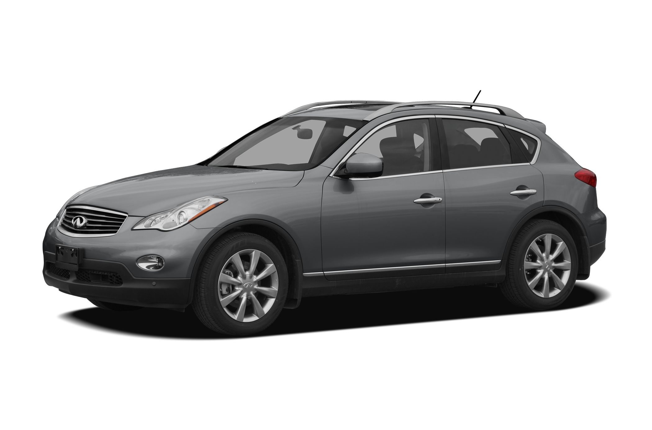 2009 Infiniti EX35  As much as it alters the road this lush 2009 Infiniti EX35 transforms its drive
