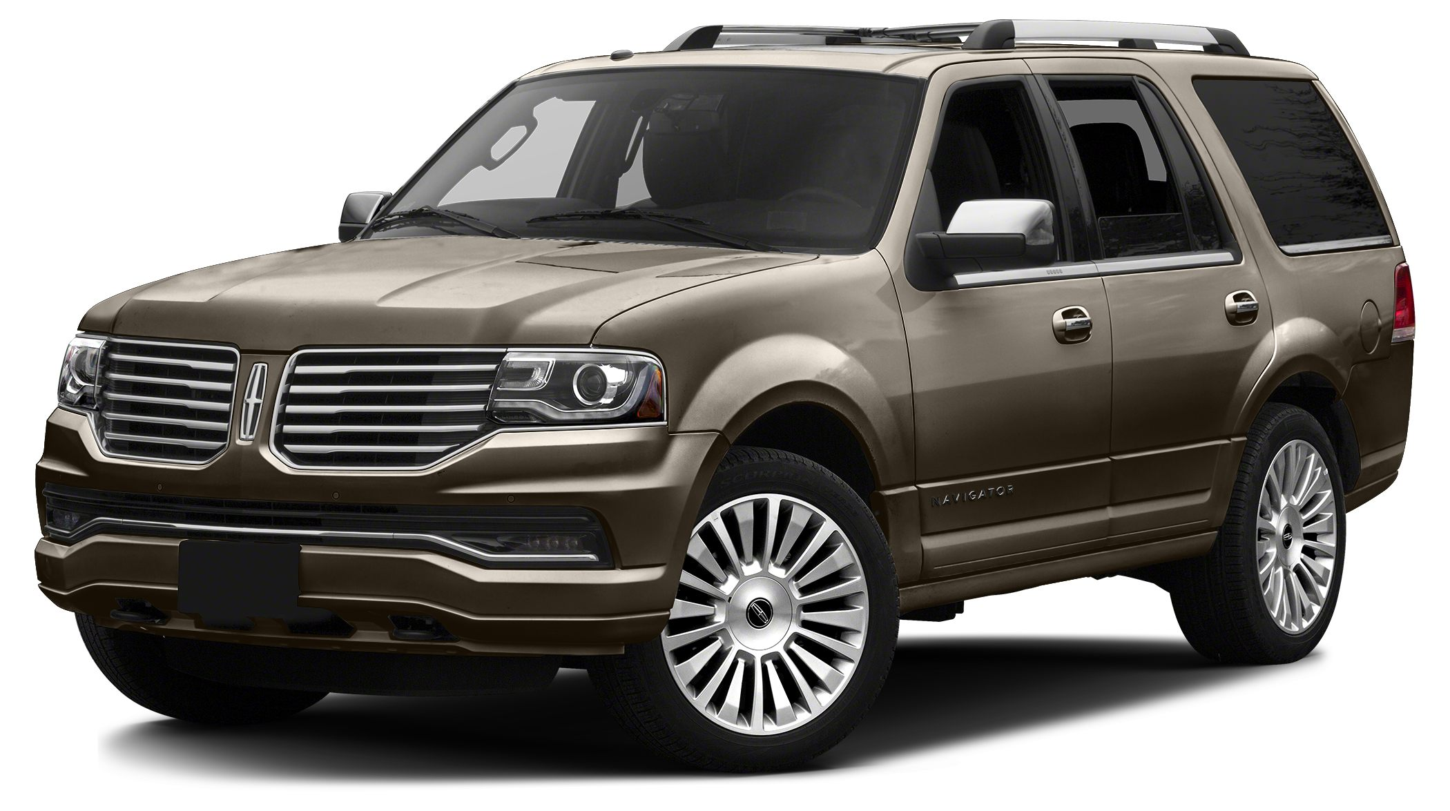 2017 Lincoln Navigator Select Miles 0Color Riviera Sands Light Brown Metallic Stock IP-L00223