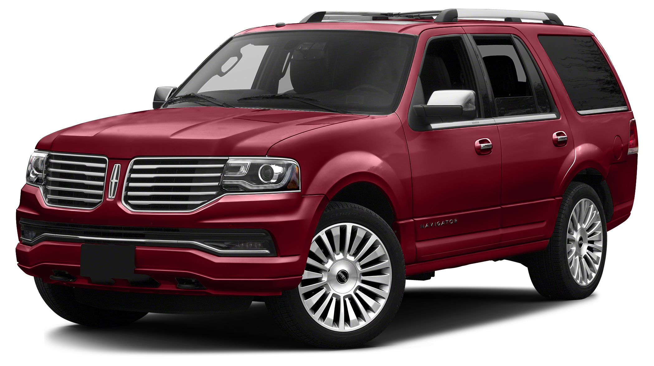 2016 Lincoln Navigator Reserve Miles 0Color Ruby Red Metallic Tinted Clearcoat Stock LG2694 V
