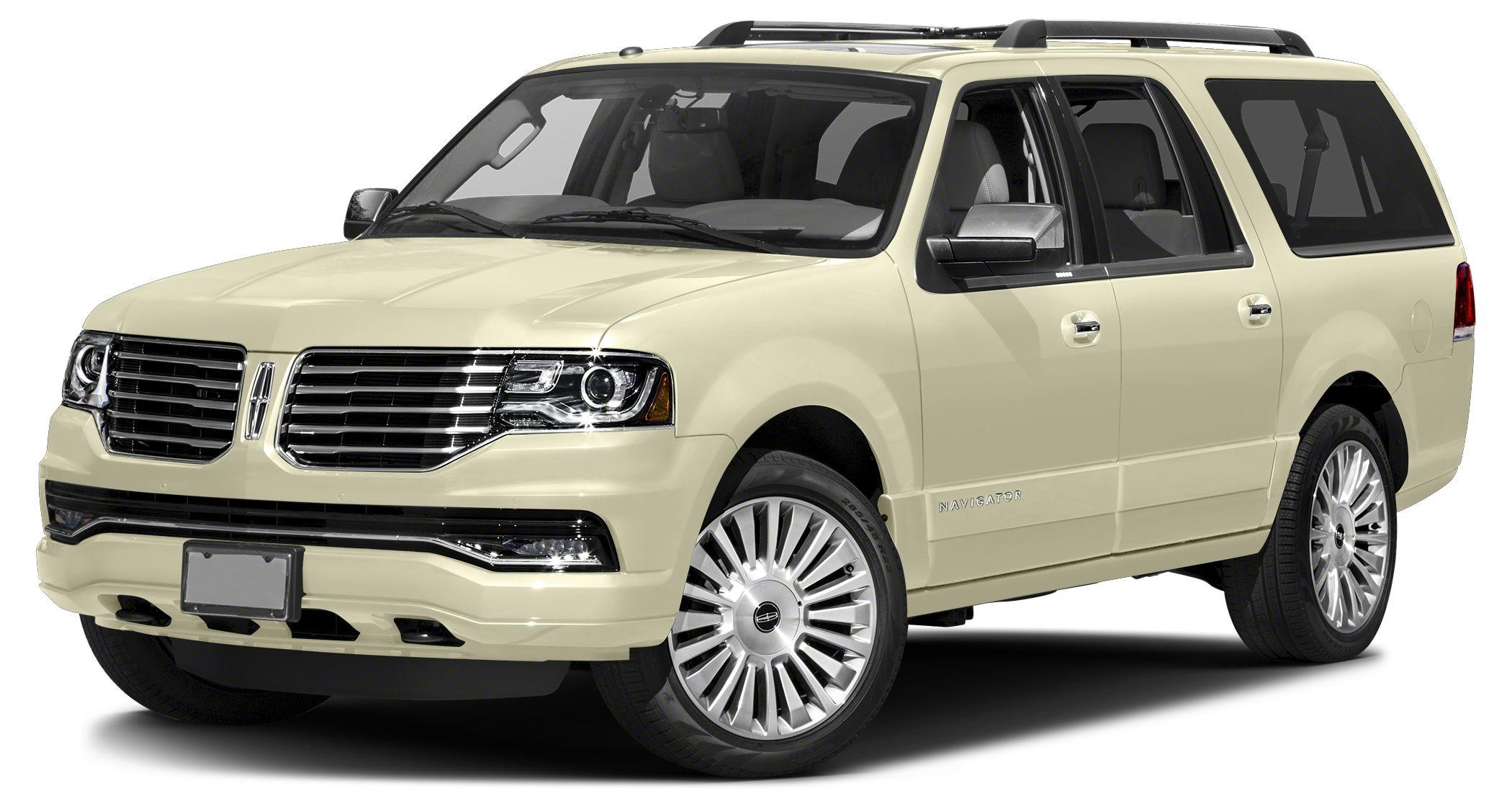 2017 Lincoln Navigator L Reserve Miles 0Color Palladium White Gold Metallic Stock IP-L02481 V