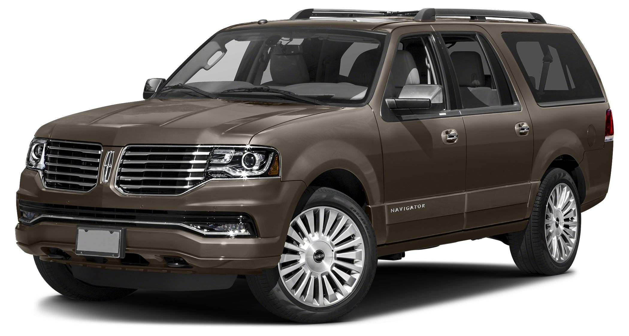 2017 Lincoln Navigator L Reserve Miles 1Color Brown Stock L00462 VIN 5LMJJ3LT2HEL00462