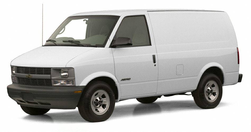 2001 Chevrolet Astro  Miles 178206Color White Stock 2538A VIN 1GCDL19W61B132272
