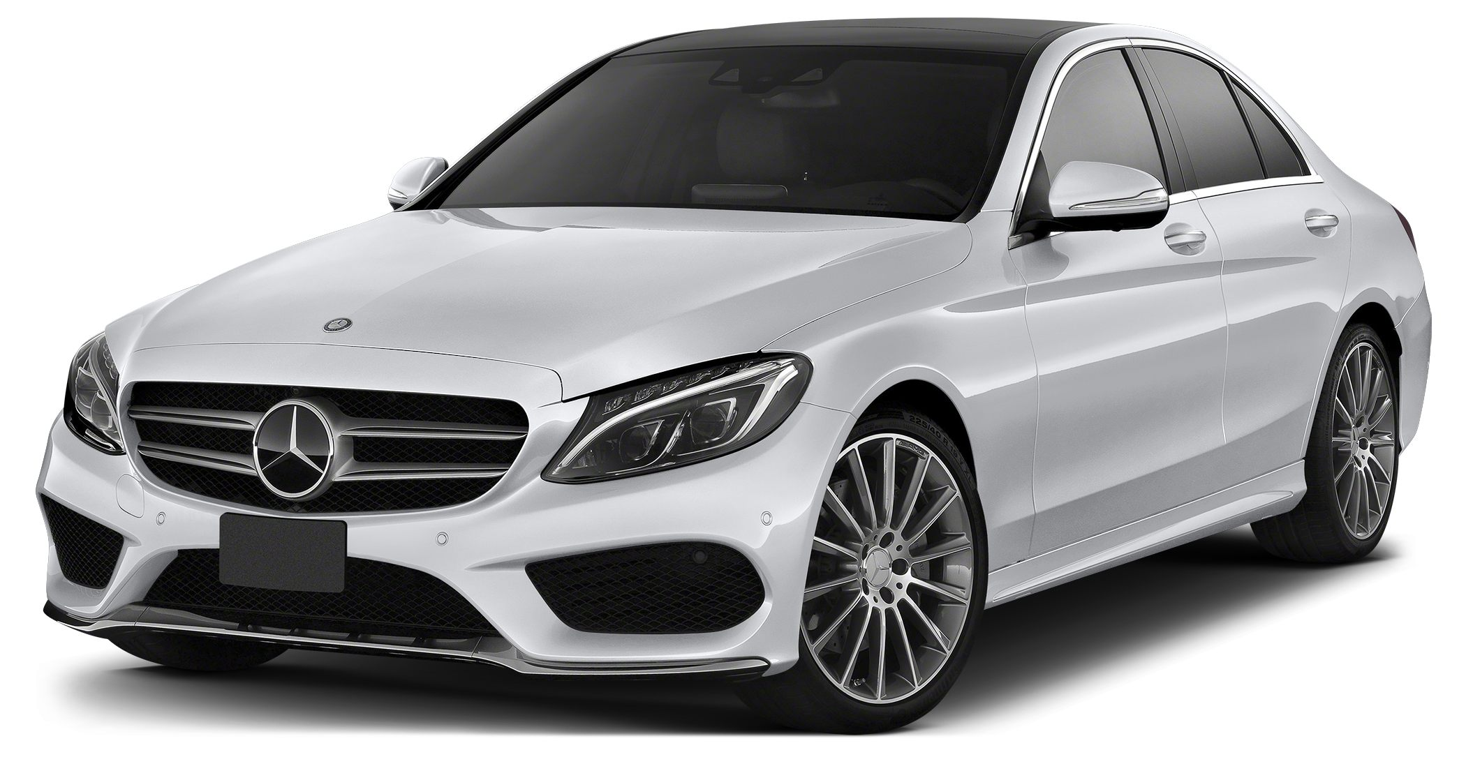 2015 MERCEDES C-Class C300 Sport 4MATIC This 2015 C300W4 Sport sedan is a low mileage MBUSA employ