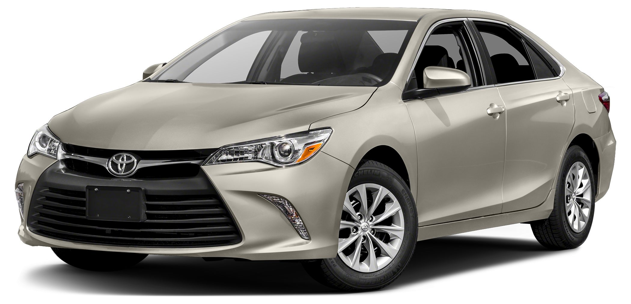 2017 Toyota Camry LE CREME BRULEE MICA exterior and ALMOND interior LE trim FUEL EFFICIENT 33 MP