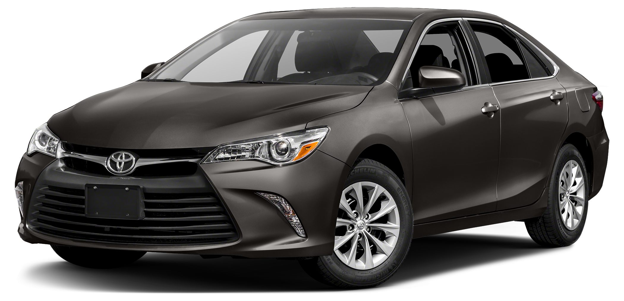 2017 Toyota Camry LE FUEL EFFICIENT 33 MPG Hwy24 MPG City PREDAWN GRAY MICA exterior and ASH int