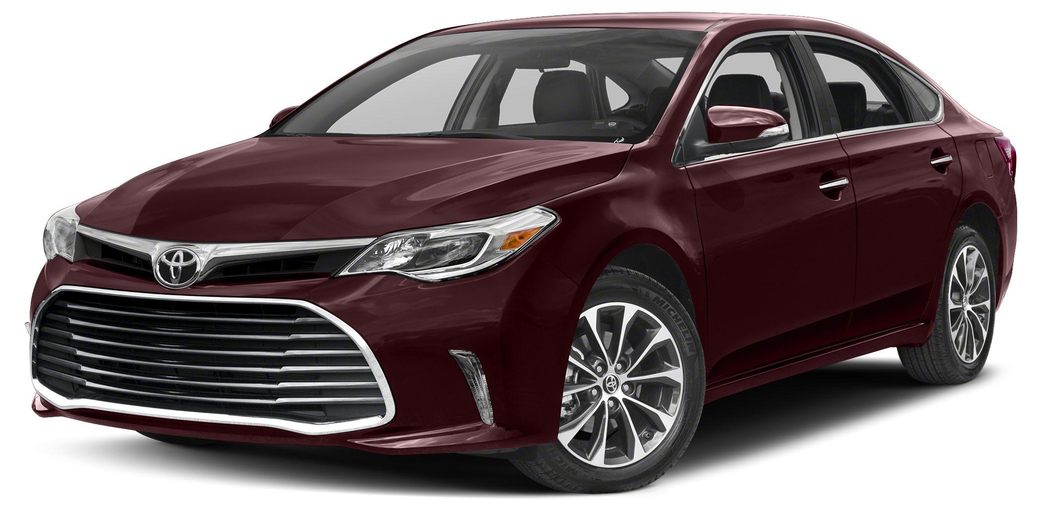 2018 Toyota Avalon XLE Sizzling Crimson Mica XLE Preferred Owners Portfolio 6-Speed Automatic EC
