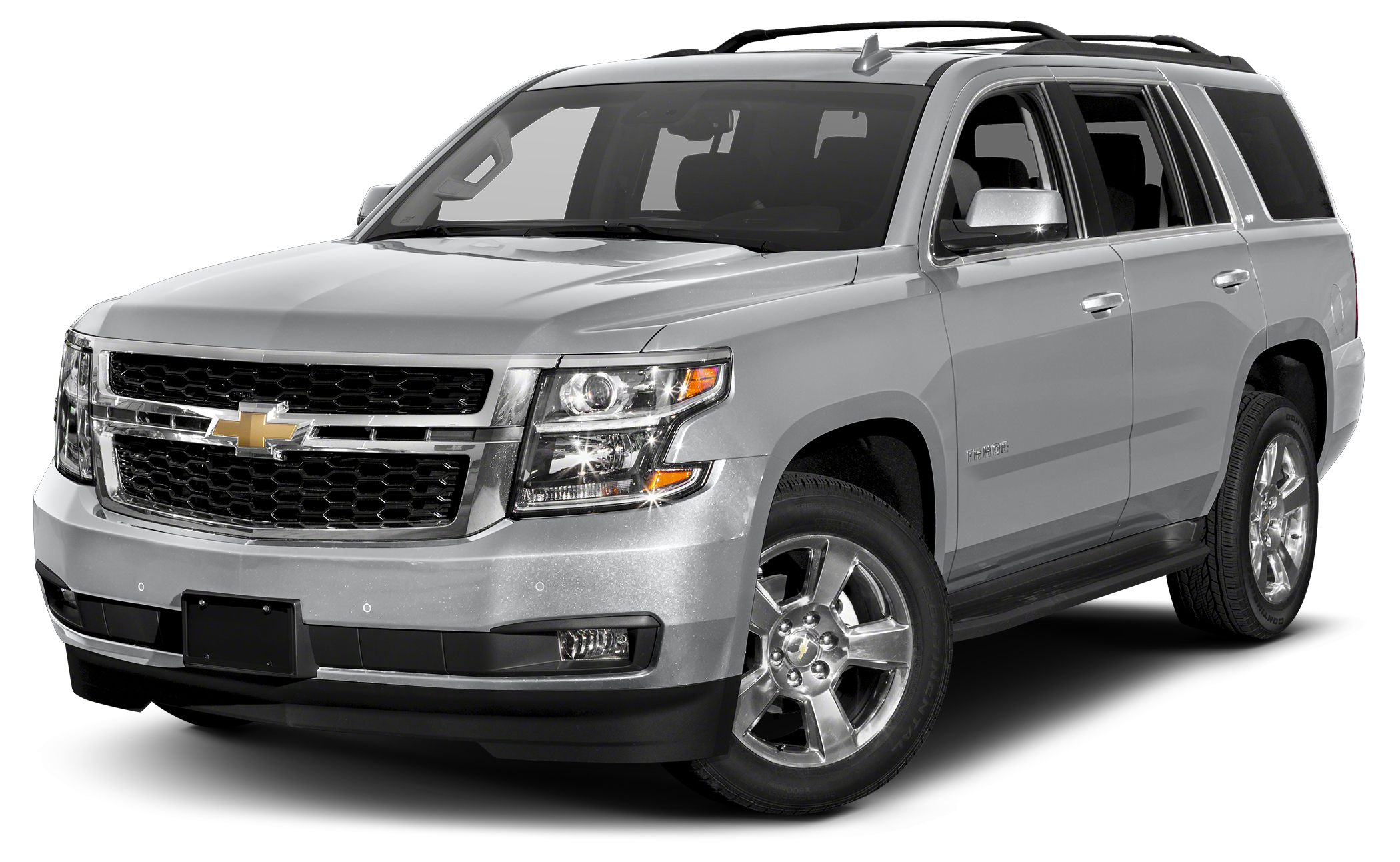 2016 Chevrolet Tahoe LS Silver Ice Metallic exterior and Jet Black interior LS trim Running Boar
