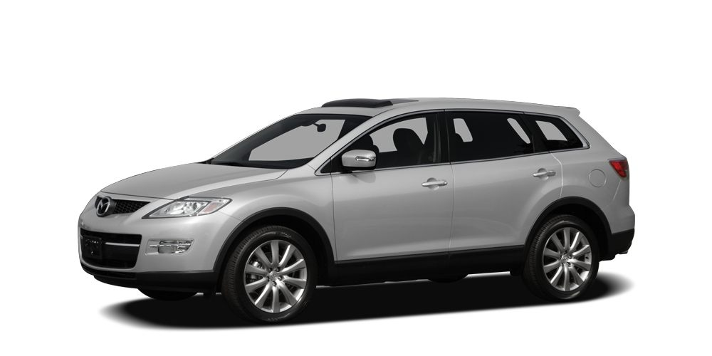 2009 Mazda CX-9 Grand Touring CX-9 Grand Touring trim 900 below NADA Retail Heated Leather Seat