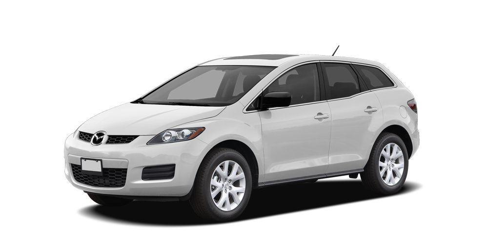 2009 Mazda CX-7 Touring Miles 102908Color Crystal White Pearl Mica Stock SB18080A VIN JM3ER2