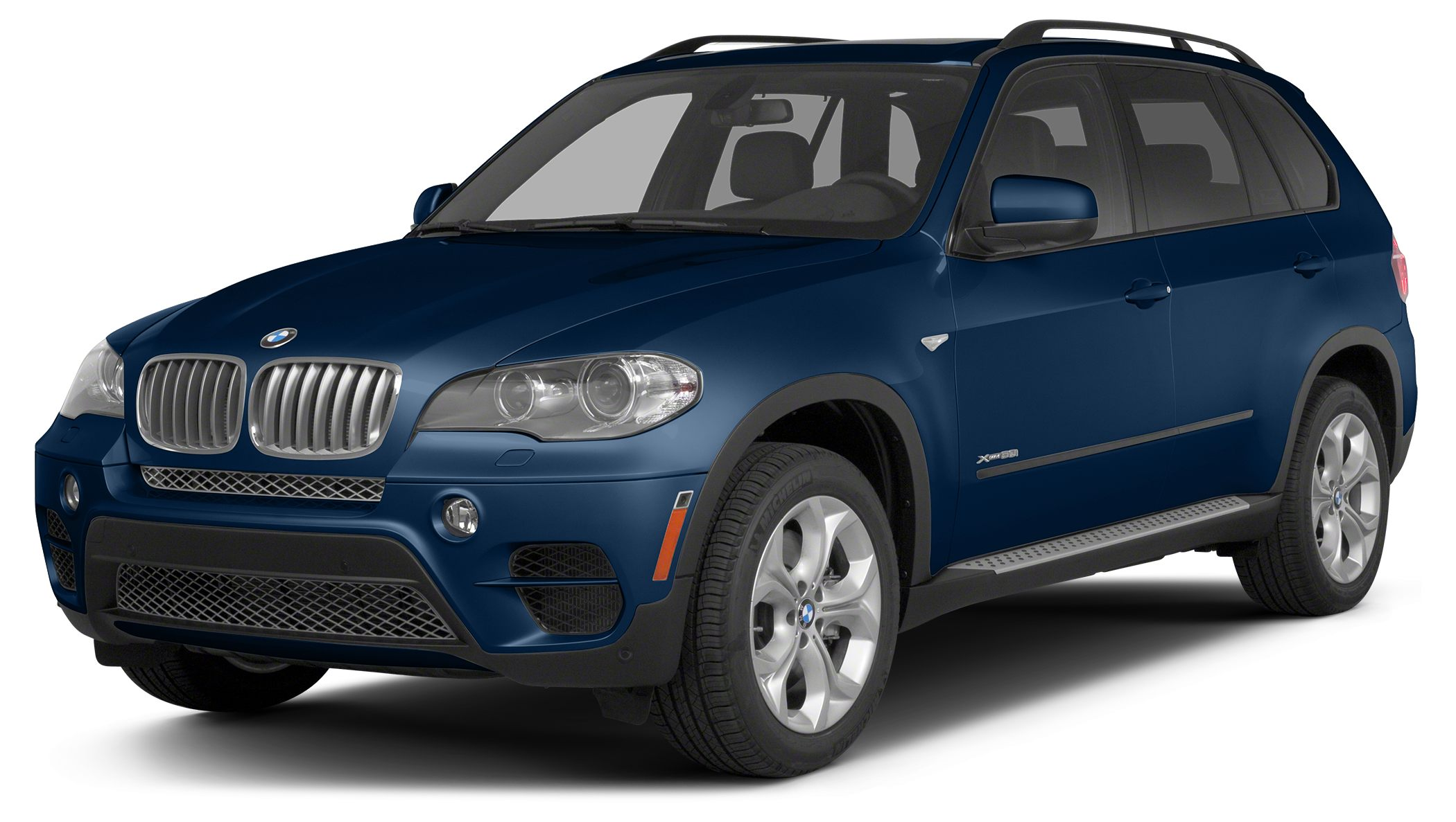2013 BMW X5 xDrive50i Navigation AWD Deep Sea Blue on Cinnamon Brown Heated Leather Bluetooth
