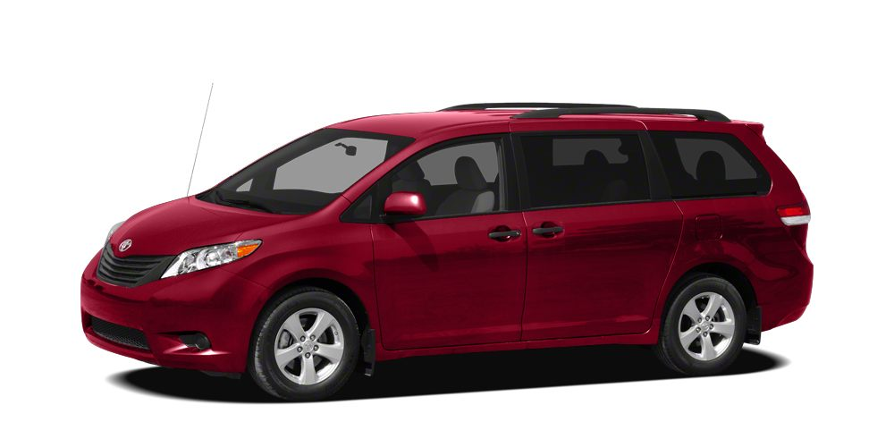2012 Toyota Sienna LE Miles 51365Color Red Stock T25300A VIN 5TDKK3DC6CS254953