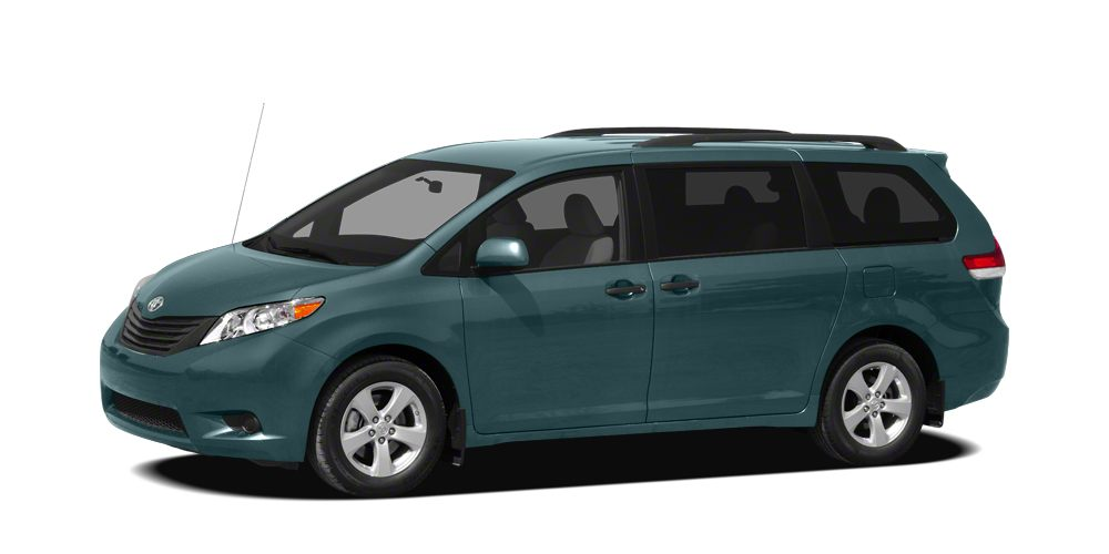 2012 Toyota Sienna Base 7 Passenger Sienna trim Toyota Certified FUEL EFFICIENT 24 MPG Hwy18 MP