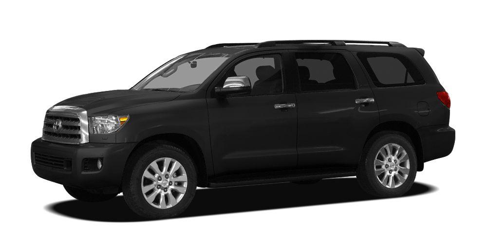 2008 Toyota Sequoia Limited 2300 below NADA Retail Ltd trim Third Row Seat Heated Leather Sea