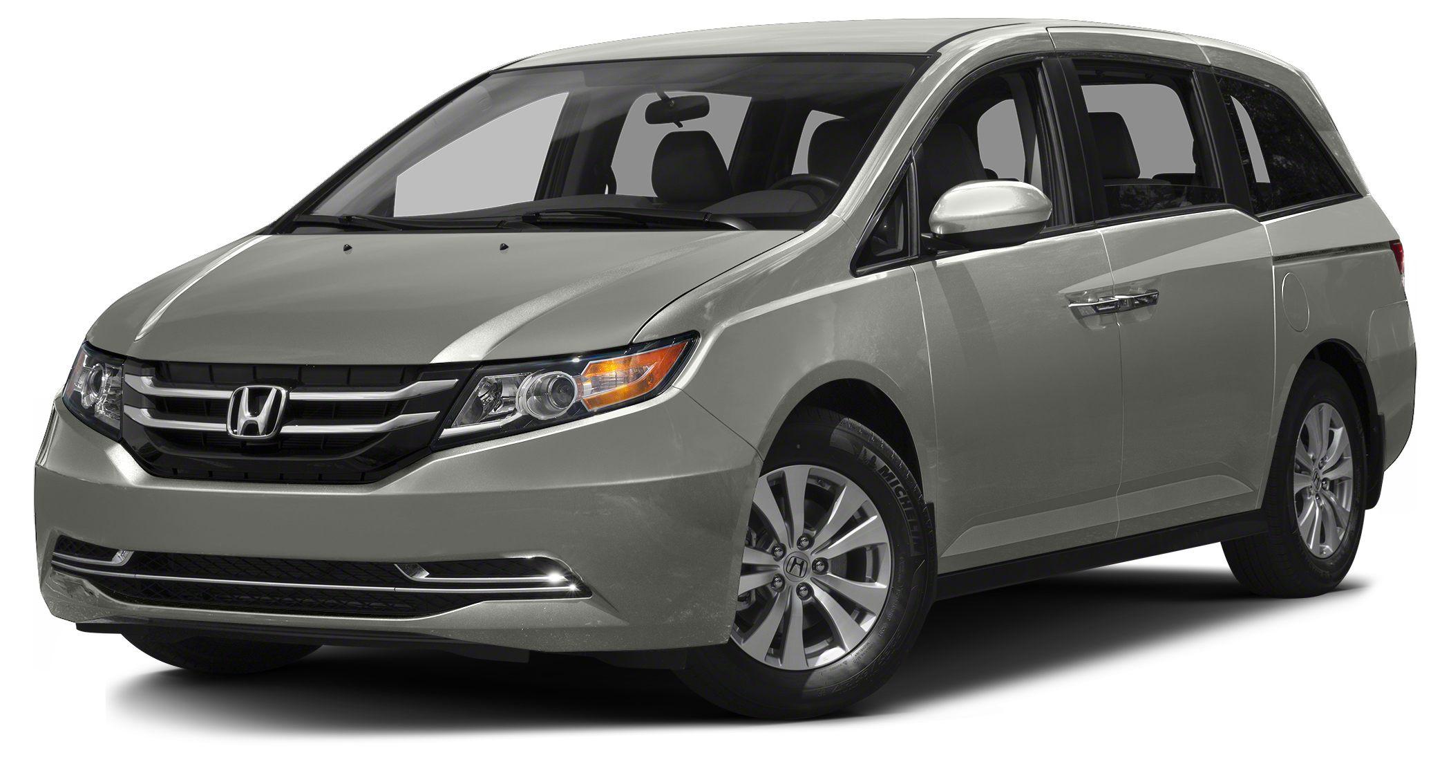 2016 Honda Odyssey EX FUEL EFFICIENT 28 MPG Hwy19 MPG City EX trim Third Row Seat Keyless Star