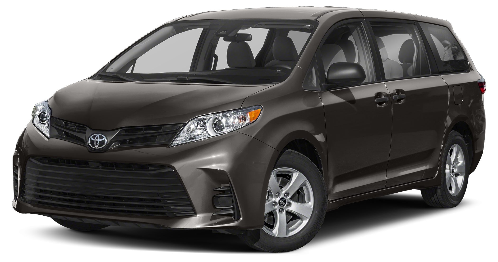 2018 Toyota Sienna LE Super White LE Preferred Owners Portfolio All Weather Floor Liners  Door