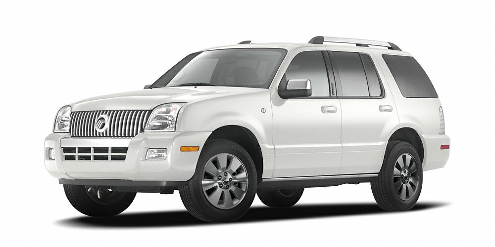 2006 Mercury Mountaineer Premier Miles 177859Color White Stock 180162A VIN 4M2EU388X6UJ16694