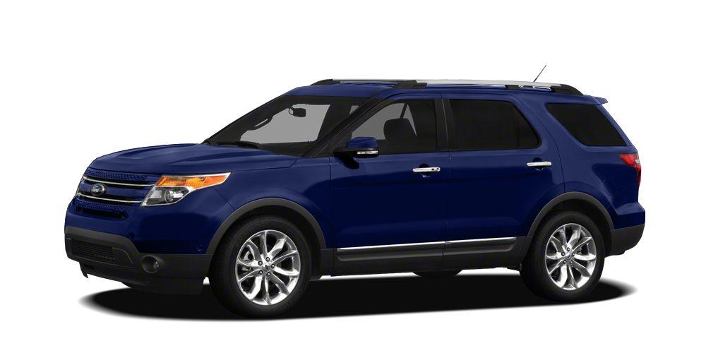 2011 Ford Explorer Limited Miles 79363Color Kona Blue Metallic Stock 15TD0345D VIN 1FMHK7F86