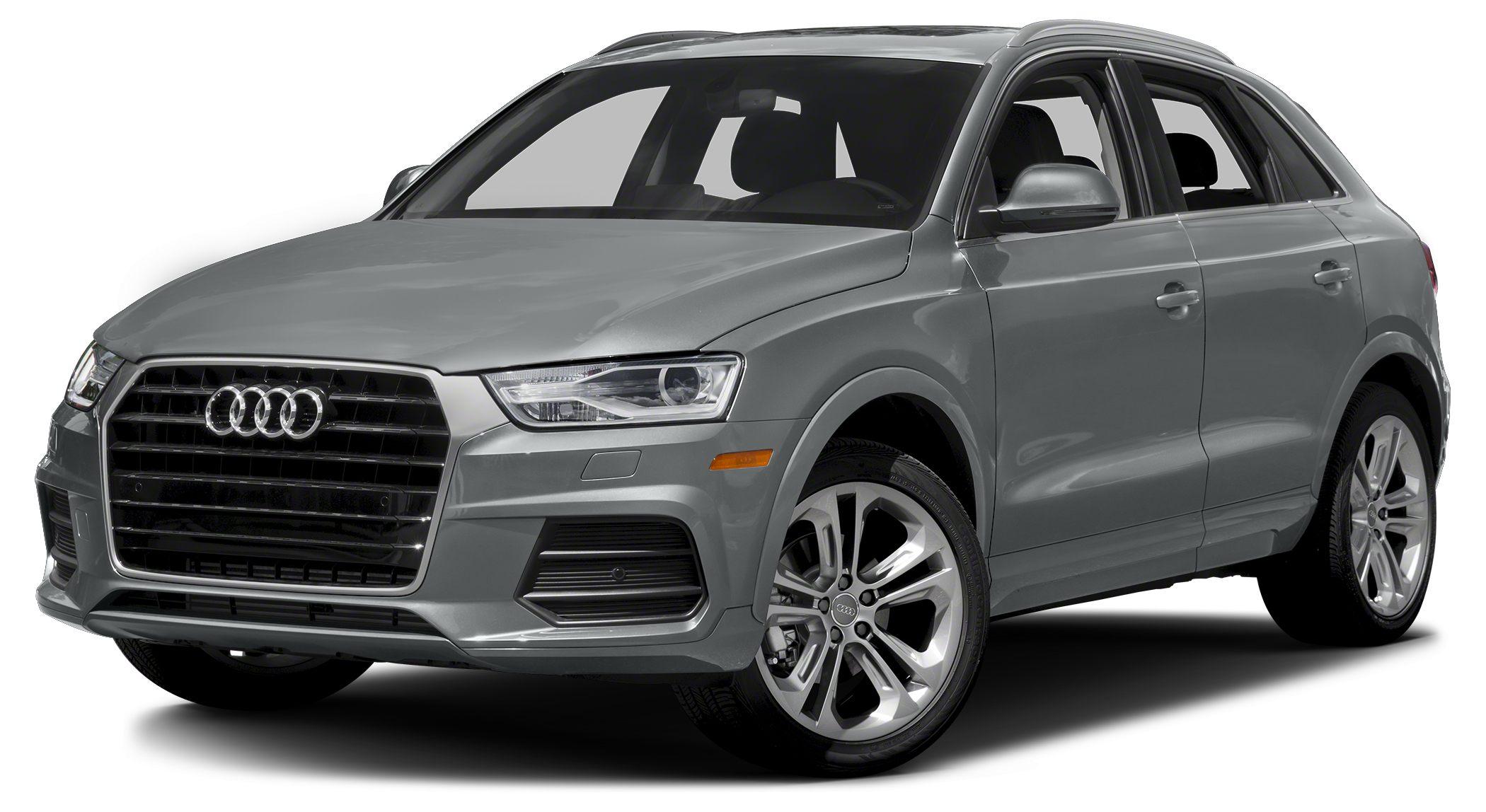 2017 Audi Q3 20T quattro Premium Audi CertifiedThis Very Low Mileage Q3 Prestige includes Fact