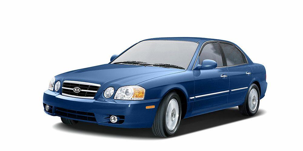 2004 Kia Optima  Miles 167984Color Blue Stock P5822A VIN KNAGD128X45318516