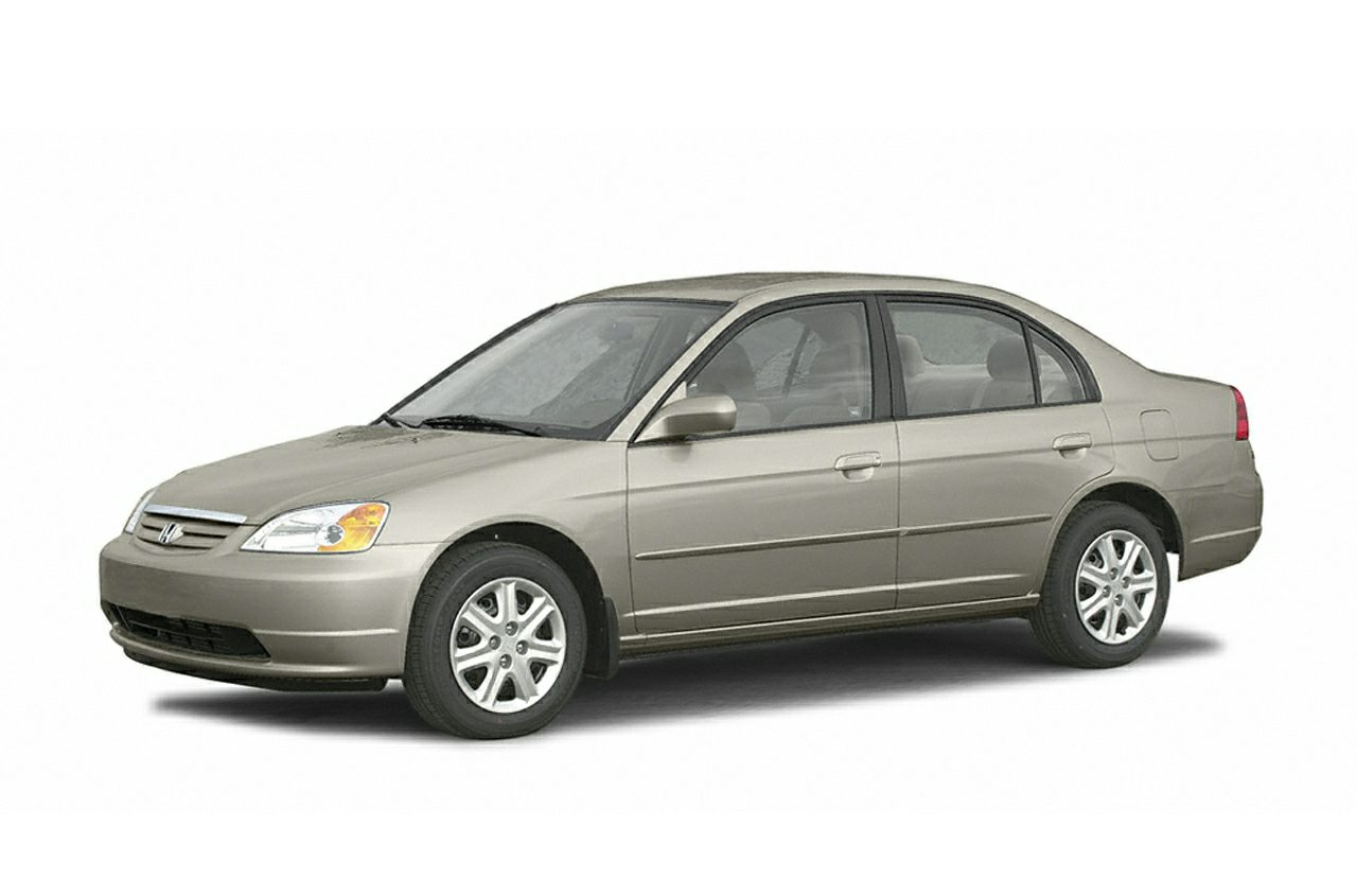 2003 Honda Civic LX Clean CARFAX - Automatic Transmission - Gas Saver Hey Look right here In a
