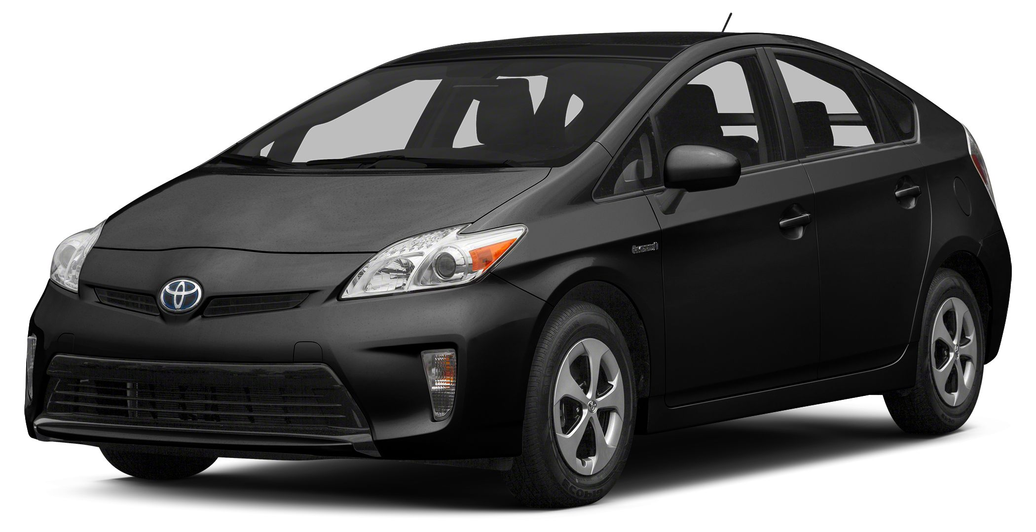 2015 Toyota Prius Four BLACK exterior and DARK GRAY interior Four trim CARFAX 1-Owner EPA 48 MP