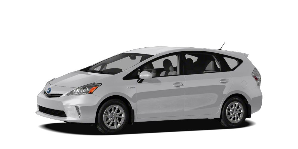 2012 Toyota Prius v  Miles 102610Color Silver Stock SB16383A VIN JTDZN3EU3C3072982
