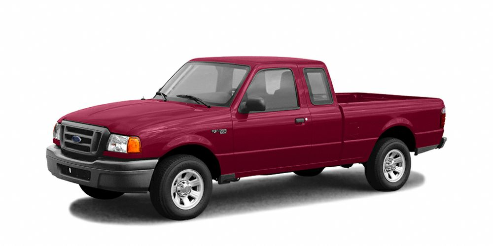 2004 Ford Ranger XLT Miles 109886Color Medium Toreador Red Metallic Stock 8201 VIN 1FTZR45E2