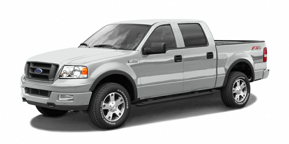 2004 Ford F-150 XLT Miles 78521Color Silver Clearcoat Metallic Stock T41455AD VIN 1FTRW14W94