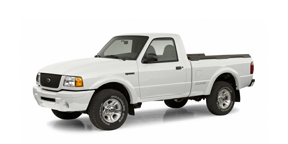 2004 Ford Ranger XL This White 2004 Ford Ranger XL might be just the regular cab for you It comes