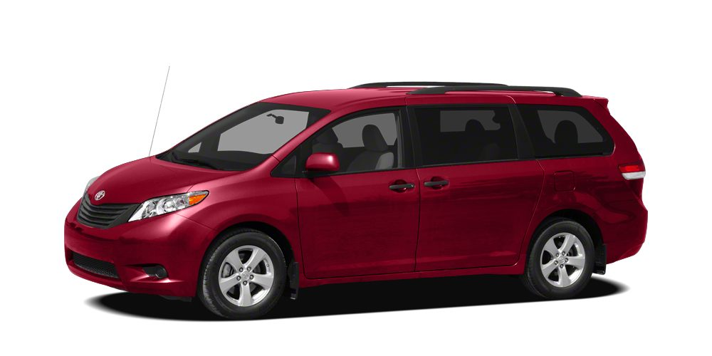 2011 Toyota Sienna XLE Miles 75855Color Salsa Red Pearl Stock T41480B VIN 5TDDK3DC2BS005122