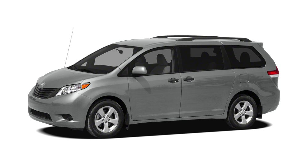 2011 Toyota Sienna XLE SILVER SKY METALLIC exterior and LIGHT GRAY interior ONLY 60451 Miles 5