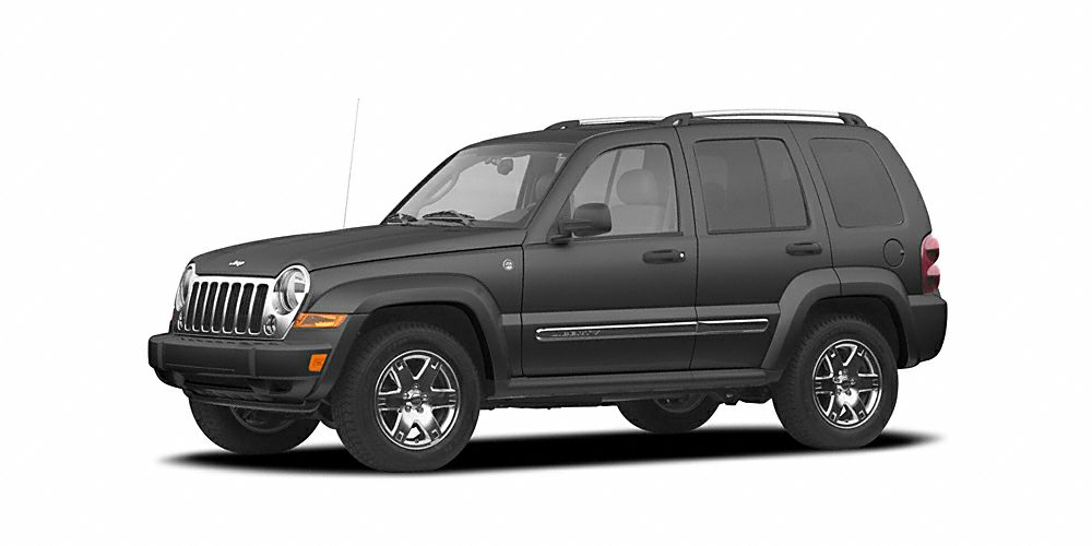 2005 Jeep Liberty Renegade Miles 136525Color Black Stock 12007A VIN 1J4GL38K25W563949