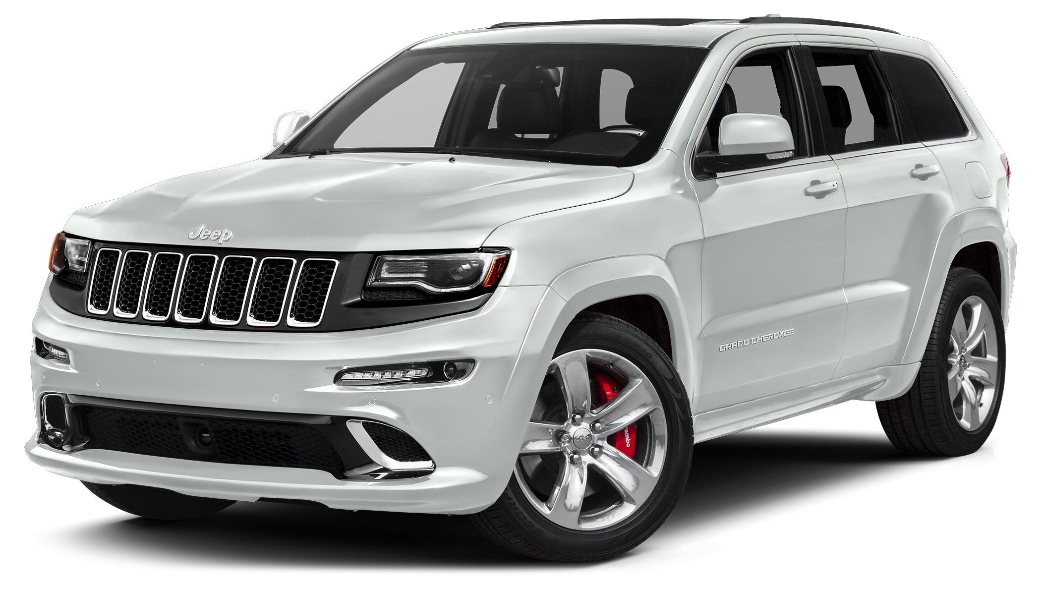 2014 Jeep Grand Cherokee SRT CARFAX 1-Owner GREAT MILES 11774 SRT8 trim NAV HeatedCooled Leat