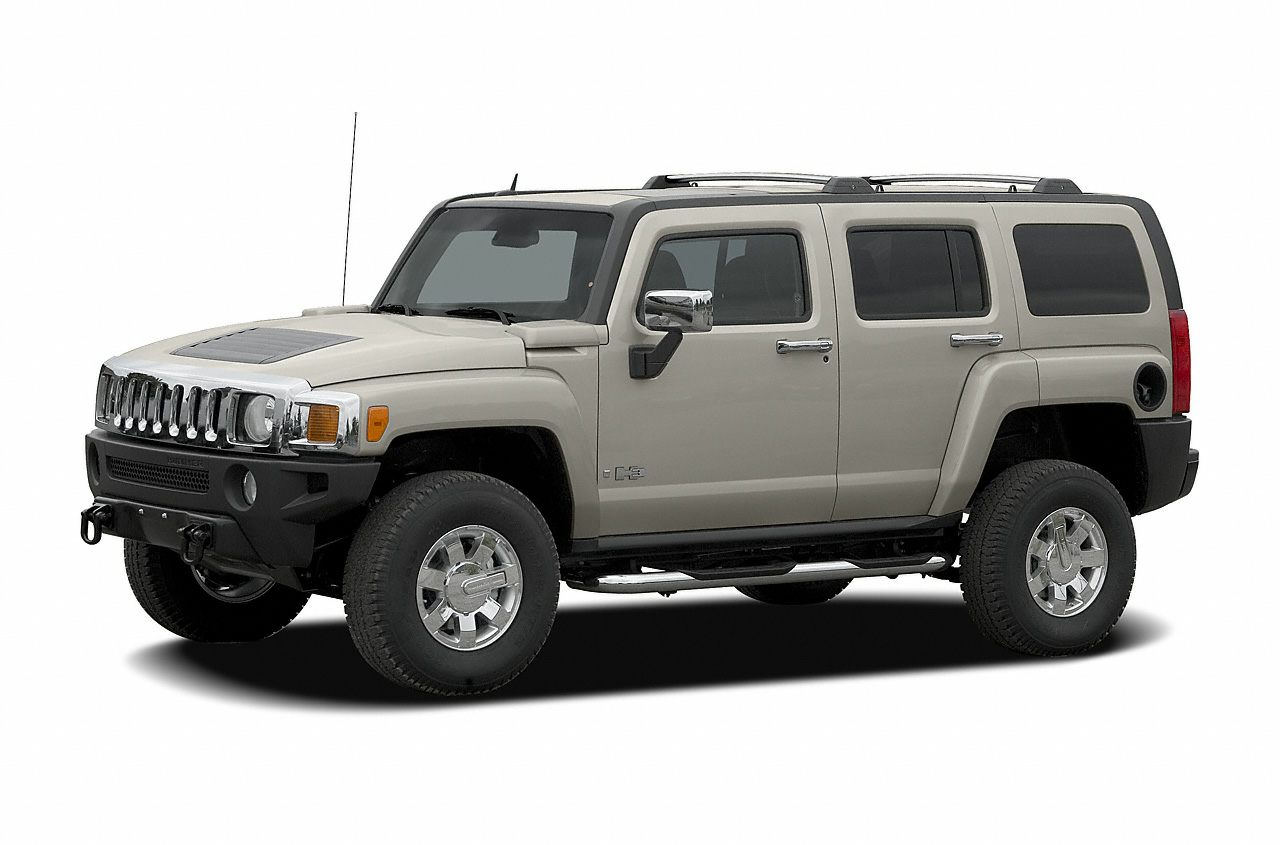 2007 HUMMER H3  Heavy-Duty HandlingTrailering Suspension Package 4WD Alloy wheels and Remote k