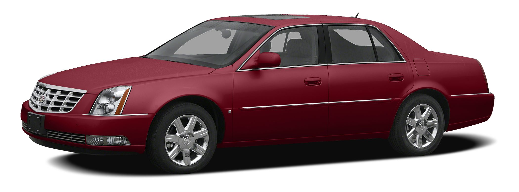 2011 Cadillac DTS Luxury Miles 52434Color Crystal Red Tintcoat Stock P10401 VIN 1G6KD5E66BU1