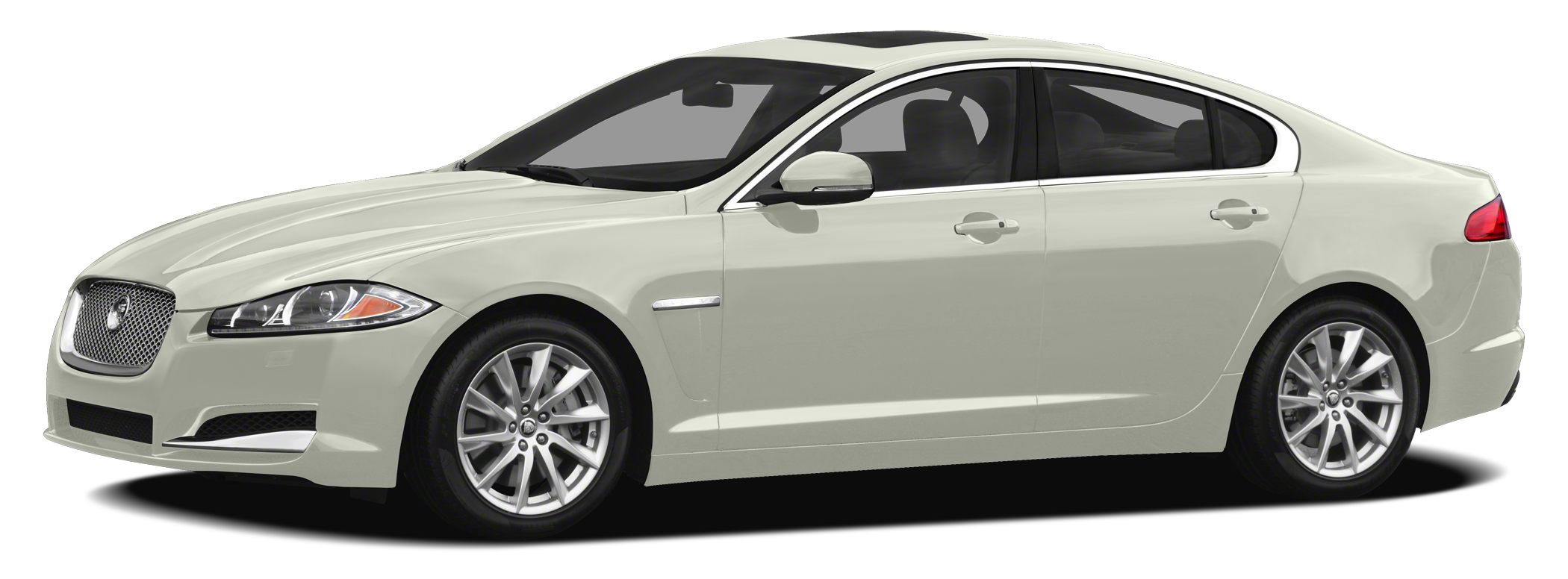 2012 Jaguar XF Base THIS BEAUTIFUL 2012 JAGUAR XF  LUXURY COLOR COMBINATION WHITE ON TAN LEATHER