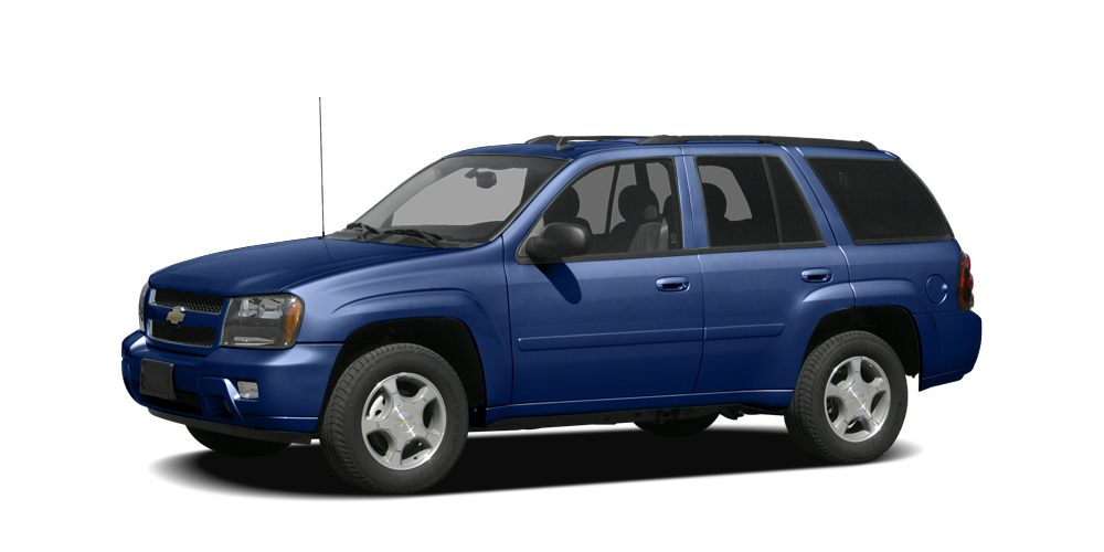 2008 Chevrolet TrailBlazer LS Recent Arrival Odometer is 19496 miles below market average CARFAX
