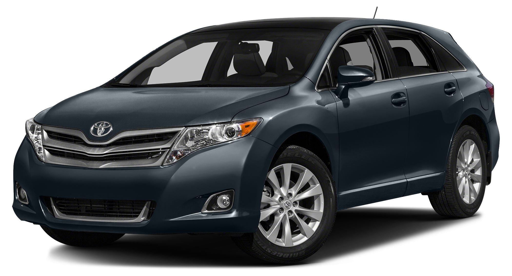 2015 Toyota Venza LE EPA 26 MPG Hwy20 MPG City CARFAX 1-Owner GREAT MILES 18236 LE trim Blue